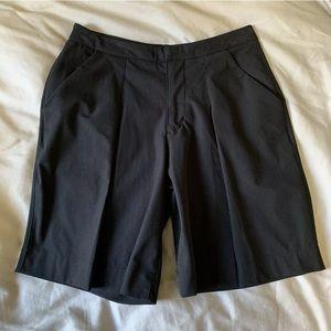 Lululemon 4 Long Story Short Black Golf Shorts
